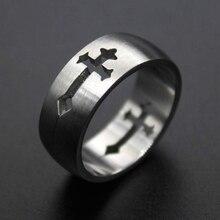 Кольцо Hemiston из титановой стали, кольцо с крестом из нержавеющей стали, кольцо TS для мужчин и женщин, подарок