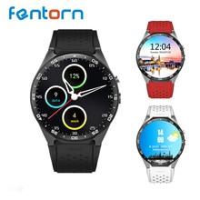 En stock kingwear KW88 Android 5.1 OS Inteligente Reloj 1.39 pulgadas 400*400 Soporte Telefónico 3G WIFI SIM Nano Reloj SmartWatch Inteligente