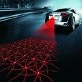 Anti Colisão Laser Fog Light Rear-end Da Cauda Do Carro Lâmpada Led Auto Criação de Indicadores de Sinal de Freio de Estacionamento Luz de Advertência Estilo do carro