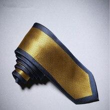 Для мужчин галстуки классические шейные платки 17 Цвета контраст Цветочный принт дизайн бренда Бизнес зауженный модные формальные связи CBJ-65