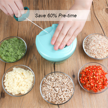 Multifunctional Chopper Garlic Slicer Vegetable Cutter Mandoline Peeler Grater Nicer Dice Kitchen Accessories Gadgets