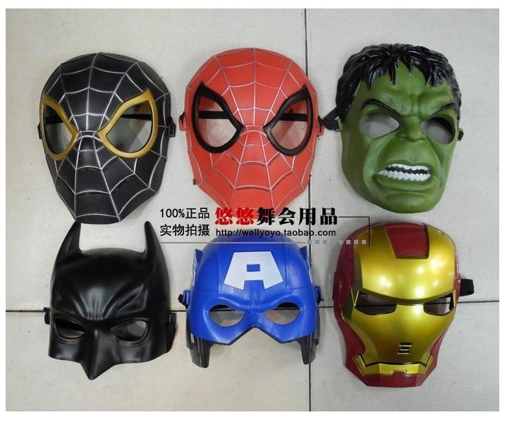 aliexpresscom buy superheroes csoplay captain america iron man spiderman thor mask helmet for kid birthday christmas gift from reliable captain america