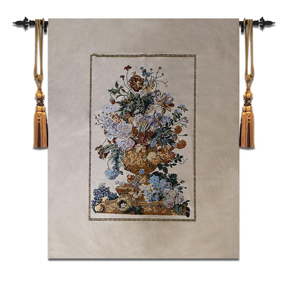 145*180 cm Aubusson belgique grand tapis mural marocain décor peinture décoration de la maison textile nature morte tapisserie décorative