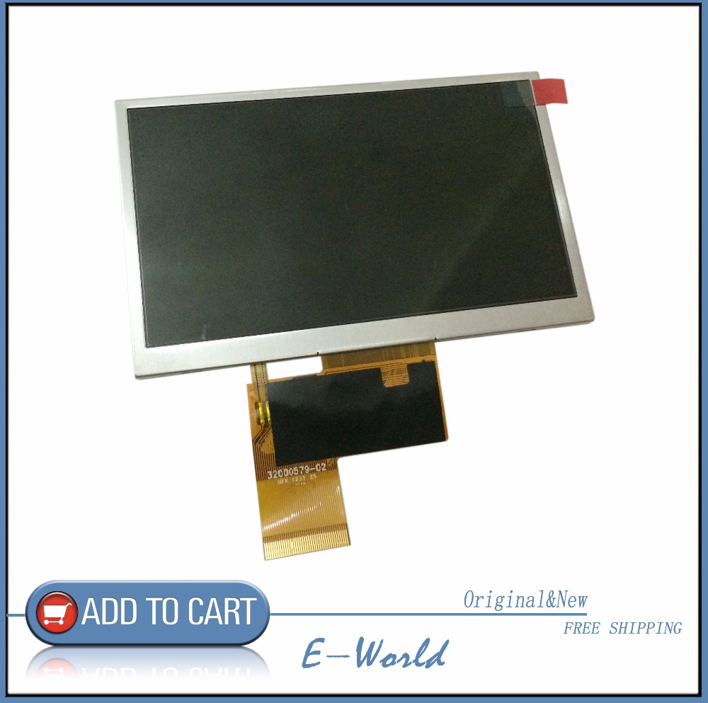 Original And New 5inch LCD Screen Innolux AT050TN33 V.1 32000579-02 For MP4 GPS Free Shipping