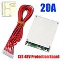 13S 48V 20A литий-ионный аккумулятор защита Bms Pcb плата защита с балансом для электровелосипеда