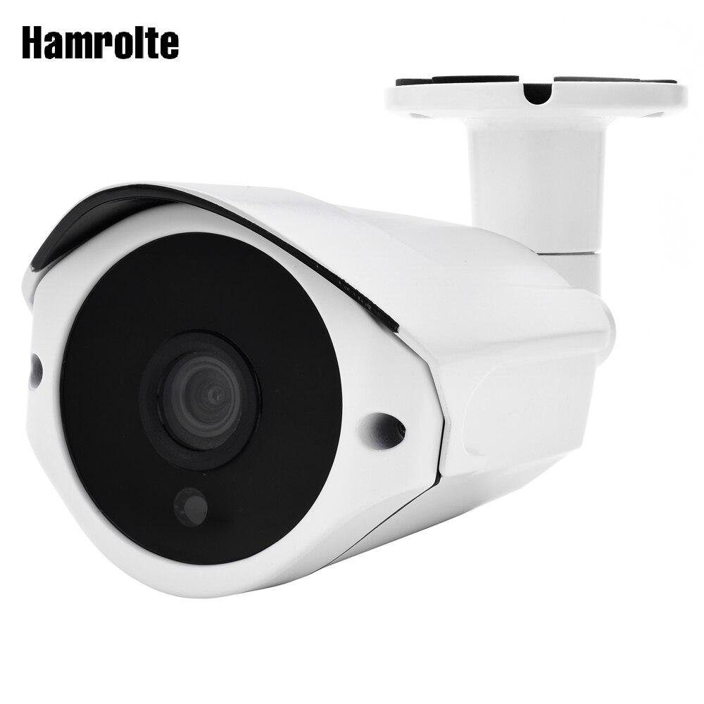 Hamrolte 4MP Caméra IP Extérieure Caméra H.265 HI3516D + 1/3 OV4689 Étanche ONVIF Détection de Mouvement XMEYE Téléphone Accès À Distance