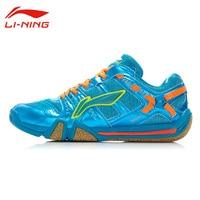 Li Ning Men S Badminton Shoes Li Ning Hard Wearing Flexible Outdoor Balanced Sports Sneakers AYAJ011