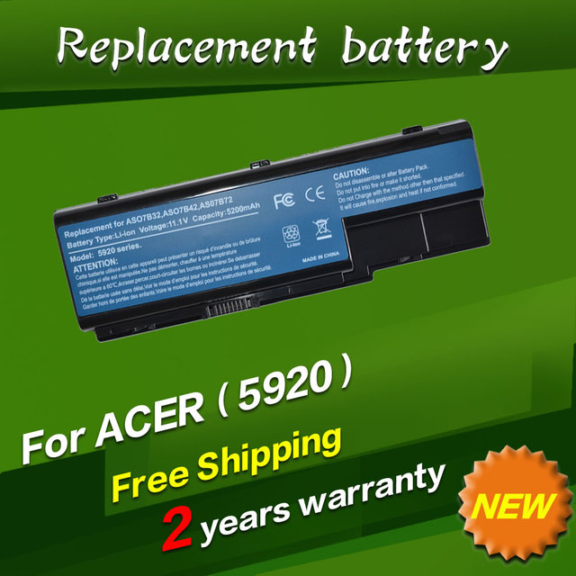 JIGU Laptop battery For Acer Aspire 5920 5315 5520G 6930 6935 7230 7330 7520 7530 AS07B31 AS07B32 AS07B41 AS07B42 AS07B51