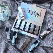 BEAUTY GLAZED 5pcs/Set Liquid Lipstick Lip Gloss Professional Makeup Matte Kit Long Lasting Cosmetics Maquiagem