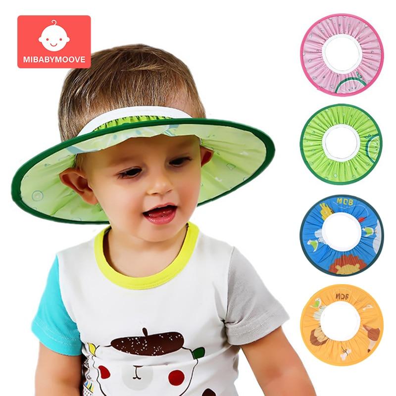 Safe Baby Shower Caps Shampoo Cap Toddler Kids Wash Hair Shield Direct Visor Hats Children Shampoo Cap For Baby Care