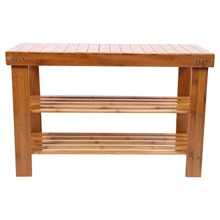 bench with shelf. 2 Tier Modern Bamboo Multi Function Shoe Rack Storage Organiser Bench Shelf Stand(China) With