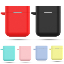 Silicone Earphone Case For Xiaomi Airdots Pro Shockproof Protective Cover For Xiaomi Mi Air TWS Wireless Bluetooth Headset Pouch
