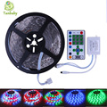 Tanbaby Horse race led strip 5M SMD5050 54led/M DC12V waterproof IP flexible + Led controller chasing dream led decoration light