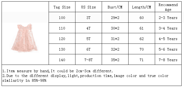 HTB1so6tX8v0gK0jSZKbq6zK2FXal Cute Girls Dress 2019 New Summer Girls Clothes Flower Princess Dress Children Summer Clothes Baby Girls Dress Casual Wear 3 8Y