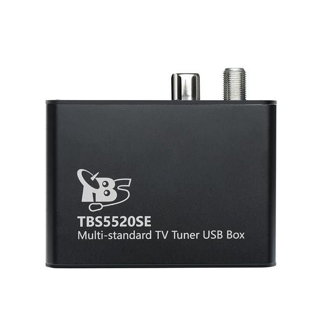 Tbs5520se multi-estándar universal digital sintonizador de tv usb caja para ver y grabar dvb-s2x/s2/s/t2/t/c2/c/isdb-t fta tv