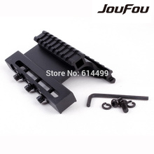 JouFou Tactical Gen 3 AK Series Double Weaver Picatinny Side Rail Mount Quick Detachable AK47U Accessories