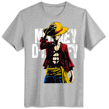 One Piece Luffy T shirts casual t shirts O neck summer t shirts anime tees