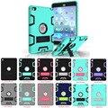Coosybo для ipad 6 Case, Броня-Коробка Три Слоя Heavy Duty Прочный Гибридный Защитный С Подставкой Case Для iPad Air 2