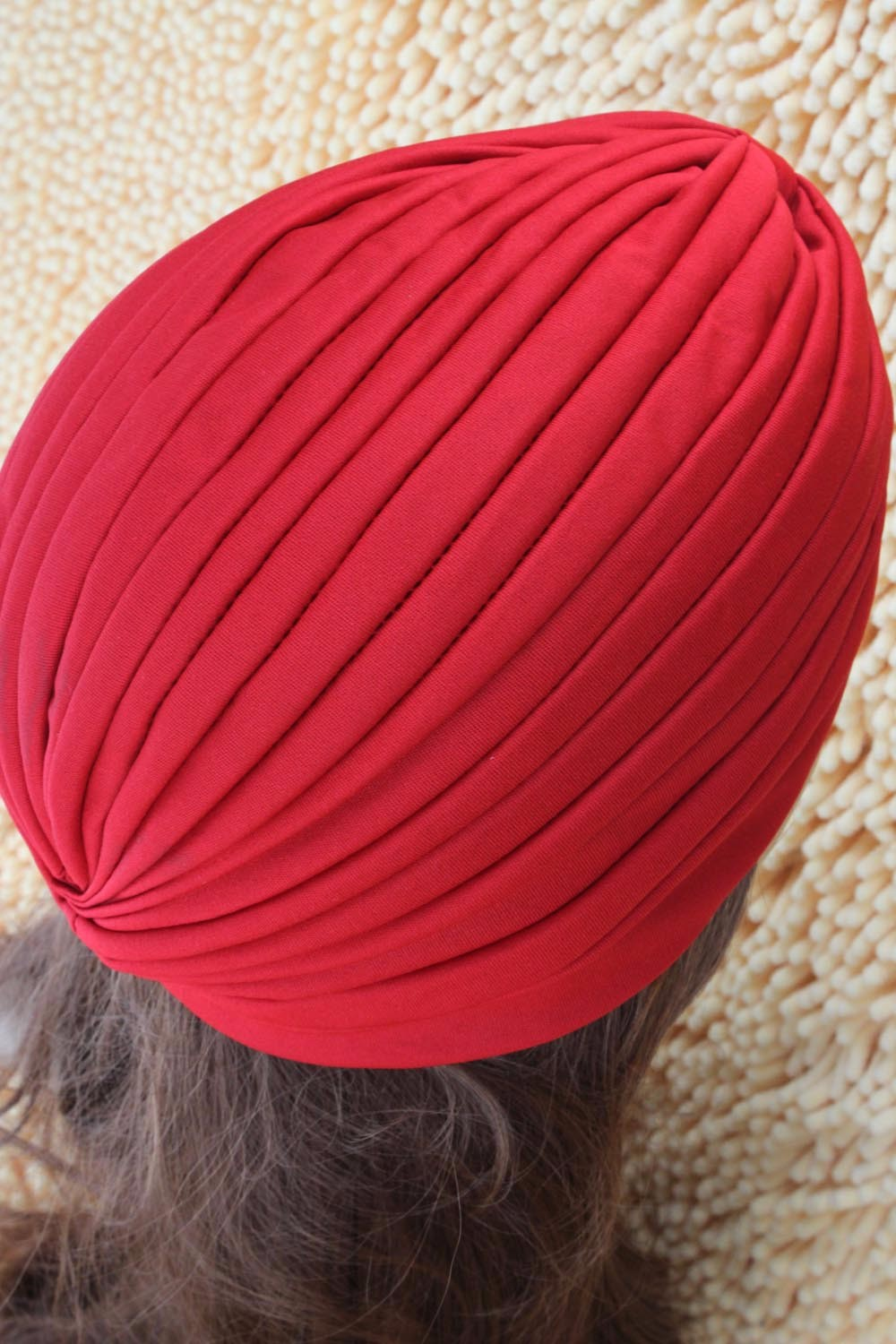 2016 New Fashion Women Turban Hat Bohemia 21 Solid Color Fold Beanies Female Simple Autumn Bonnet Indian Turban Hats For Women (5)