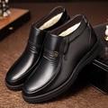 YIQITAZER 2017 Fashion Warm Winter Shoes Boots Man,Slipony platform long fur boots man ankle boots black brown