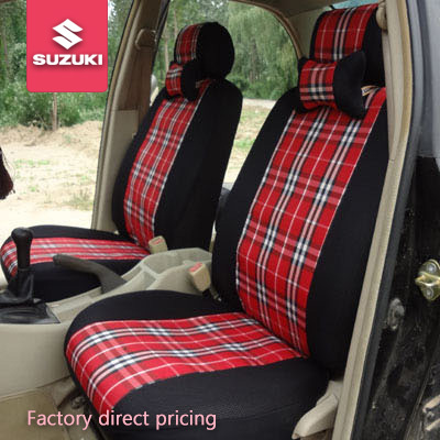 Seat Covers Car SUZUKI Sx4 Liana Swift Jimny Accessories Set Plaid Cover Universal For Four Seasons Factory Pricing In Automobiles