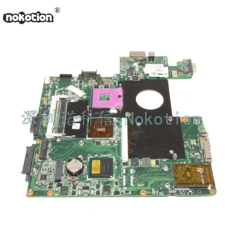 NOKOTION 08G2005MS20I laptop motherboard For asus M50S 965PM DDR2 With graphics slot Mainboard Free cpu WORKS nokotion for acer aspire 5750 laptop motherboard p5we0 la 6901p mainboard mbrcg02005 mb rcg02 005 mother board