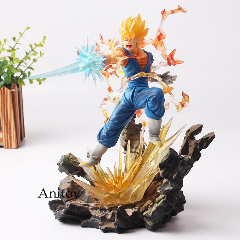 цена на Dragon Ball Figure Dragon Ball Z Vegito Action Figure Figuats ZERO Super Saiyan With Sword Toy 20cm KT4670
