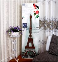 RUBIHOME Air Conditioner Waterproof Cleaning Cover Dust Proof Home Decor Bird Eiffel Tower Owl Tree Paris Fox