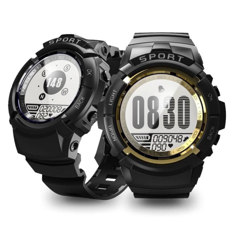 Chaude S816 Montre Smart Watch Hommes 50 m Étanche Moniteur de Fréquence Cardiaque Boussole Chronomètre Fitness Tracker Sport Smartwatch Quatre Cadran Montre