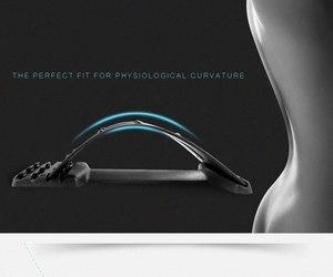 Новый волшебный массажер для спины, растягивающийся Поясничный Массажер для верхней и нижней боли в спине, широпрактики