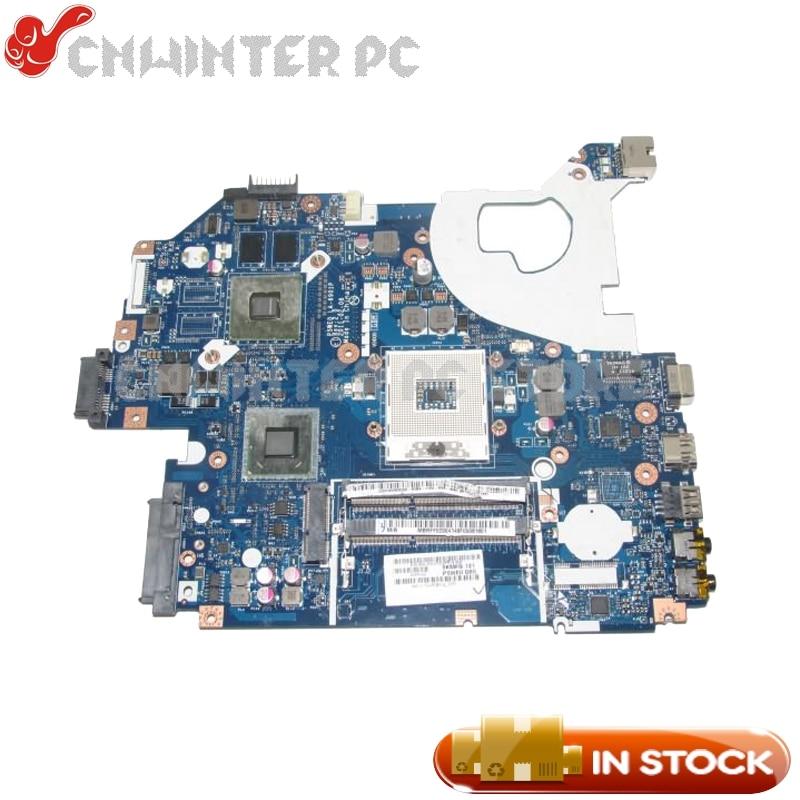 NOKOTION MB.RFF02.004 MBRFF02004 For Acer aspire 5750 5750G NV57 Laptop motherboard P5WE0 LA-6901 HM65 DDR3 GT520M Video Card nokotion mbrff02002 mb rff02 002 for acer aspire 5750 5750g 5755g nv57h laptop motherboard p5we0 la 6901p hm65 gt520m 1gb gpu