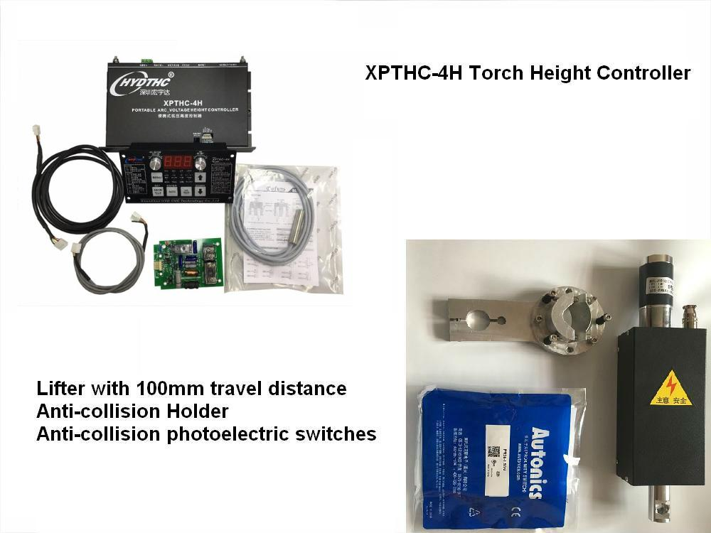 HYD Automatic Arc and cap voltage plasma torch height controller for CNC Plasma cutter THC XPTHC