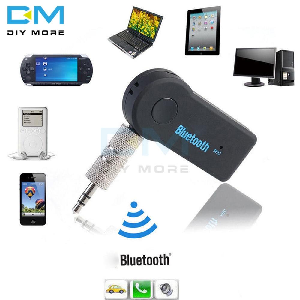 Bluetooth V3.0 EDR беспроводной стерео аудио Music Receiver модульный Переходник 3,5 мм Jack 10м громкой связи для автомобиля AUX A2DP С микрофоном