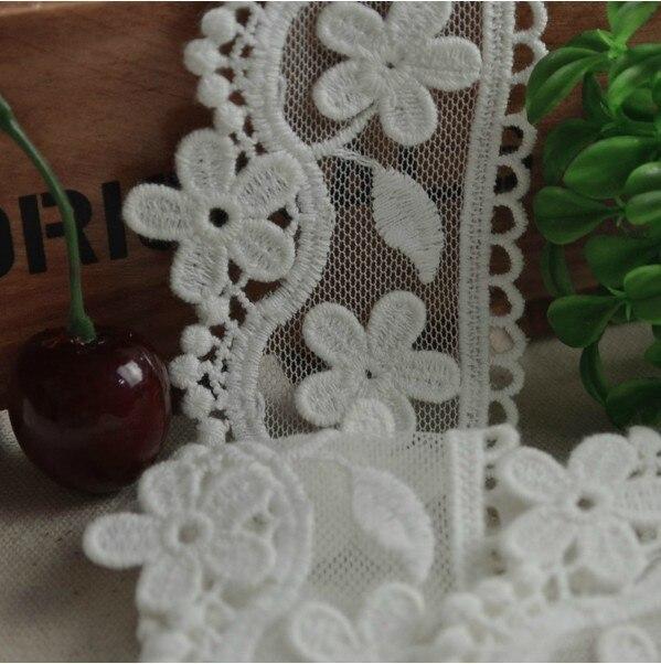 Bordado de encaje de flores bordado apliques diadema artesanía - Artes, artesanía y costura - foto 1