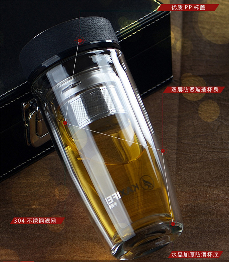 Health Thermos Mug Stainless Steel garrafa Termica Double Insulated Thermal Glass Water Bottle Cup Cooler and