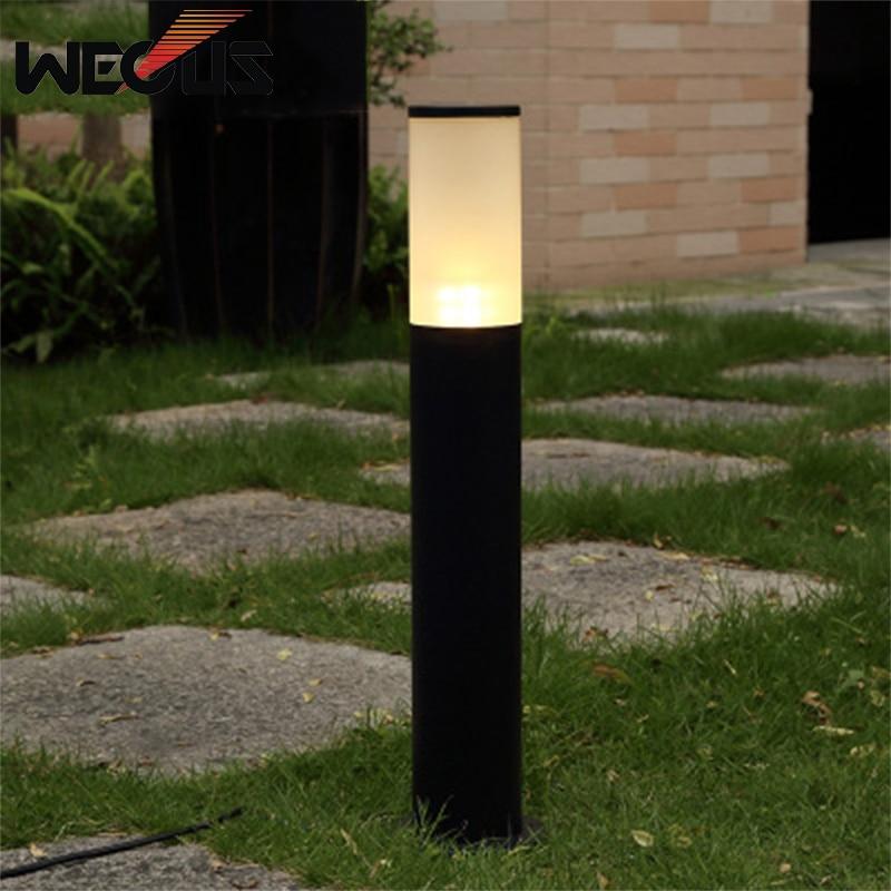 LED Aluminum waterproof lawn decorative lights courtyard outdoor garden lamp low-column landscape lighting villa lampa ogrodowa цены онлайн
