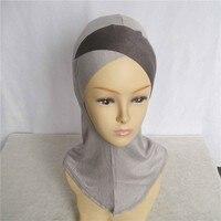 underscarf caps jersey ninja hijab ninja single cross underscarves 20pcs/lot 28colors