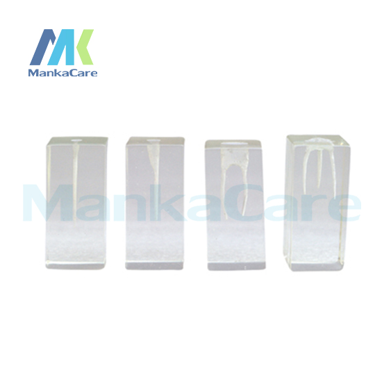 Manka Care 4 Pcs Dental Canal Excellent for root canal filling cavity preparation Oral Model Teeth Tooth Model