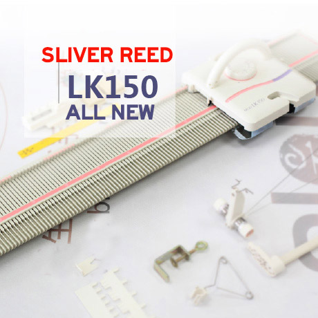 Limited Edition Free Shipping Brother Knitting Machines Silver Reed