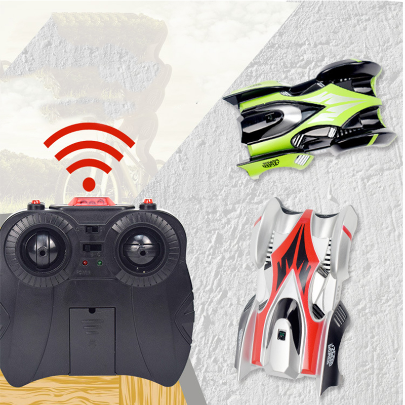 2018 New RC Wall Climbing Car Remote Control Anti Gravity Ceiling Racing Car Electric Toy Machine Auto Gift for Children racer