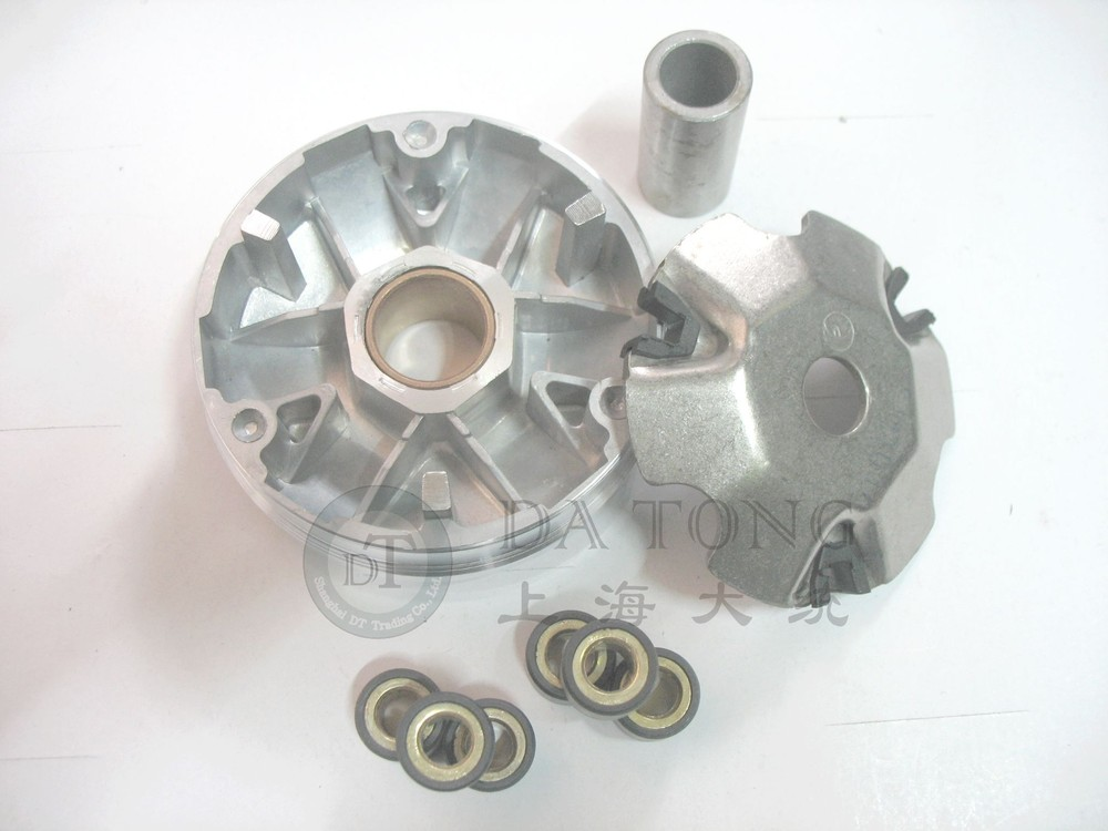 139QMA Variator Set with Copper Rollers For QJ Keeway Chinese 50 80cc GY6 Scooter Honda Dio ZX ATV Moped Spare Part