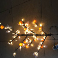 children kids living room house wedding party holiday christmas led light tree artificial flower branch decoration