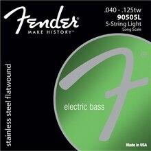 Acero inoxidable 9050's fender bass cuerdas flatwound, cuerdas-90505L 90505 M