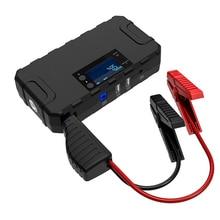 цена на 12000mAH Car Jump Starter Battery Starter For Car Booster  Jump Starter Starting Device Power Bank 1000A Car Battery Emergency