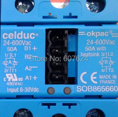 SOB865660  Celduc made in France,Relais Statique Double ,Double Solid State Relay,new and original футболка made in france совместно с parent epuise