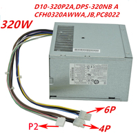 New PSU For HP 680 880 8200 8020 62006000 8000MT Power Supply D10 320P2ADPS 320NBACFH0320AWWA PS 320JB PC8022 HP D3201A0