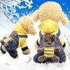 Yellow backpack bear