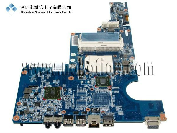 NOKOTION LAPTOP MOTHERBOARD for HP G62 CQ62 series 597674-001 DDR3 Mainboard warranty 60 days top quality for hp laptop mainboard 640334 001 dv4 3000 laptop motherboard 100% tested 60 days warranty