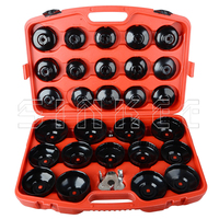 30pc Oil Filter Removal Wrench Caps Fluted Cups Socket Remover Automotive Universal Auto Car Tool Kit For Ford BMW AUDI SK1506