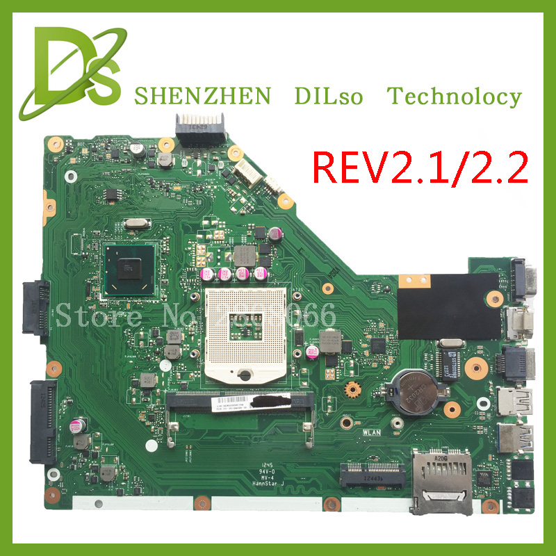 KEFU X55A For ASUS X55A Laptop motherboard ASUS X55A mainboard SJTNV REV 2.2/REV2.1 Integrated 100% tested new motherboard ipc motherboard sbc81206 rev a3 rc 100